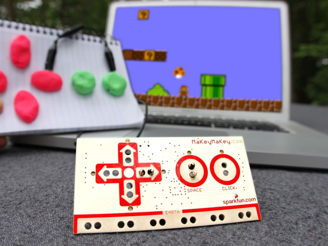 Get Started Using Microcontrollers with a Makey Makey Drum Kit