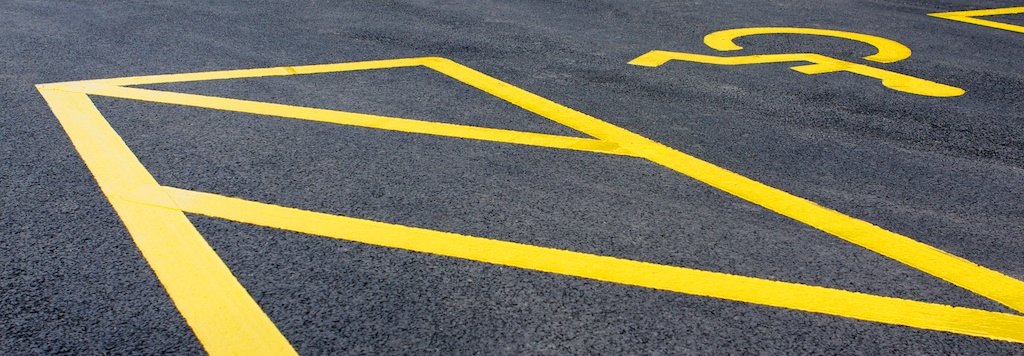 Line marking on Concrete